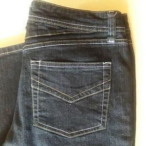 Revolt flare leg jeans